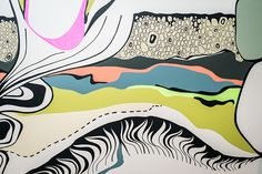 Graphic Line   Wall Mural Interior Design @ Body Engineering Design, Disney Characters, Magic, Character, Artwork