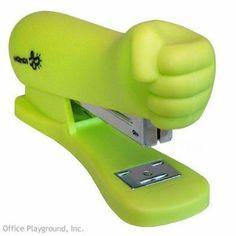 Hulk Smash stapler officeplayground