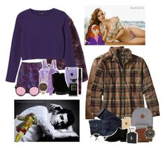 """""""☯ daphne and victor."""" by queenal3xis ❤ liked on Polyvore featuring L'Agent By Agent Provocateur, Karl Lagerfeld, Monki, J.Crew, Fjällräven, Calvin Klein Underwear, Hogan, Spektre, Chanel and Patagonia"""