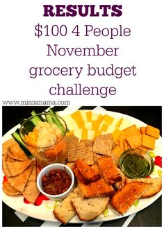 Ok, Ok! I haven't forgotten to post the final results from our November $100.00 budget grocery challenge, it's just that we got so busy! And maybe I came in over budget and didn't want to tell. ... Cheap Grocery List, Grocery Lists, Domestic Goddess, Budget Meals, Budgeting, The 100, November, Challenges, Money