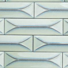 Byzantine Alice Blue 3D Ceramic Tile - Blue - Shop By Color