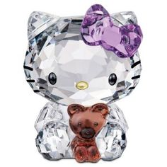 Swarovski Hello Kitty Bear Figurine