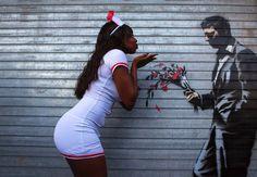 Liebe aus der Dose:   Eine tägliche Dose für New York. Banksy, der anonyme...