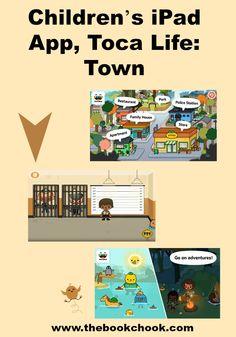 Children's iPad App, Toca Life: Town