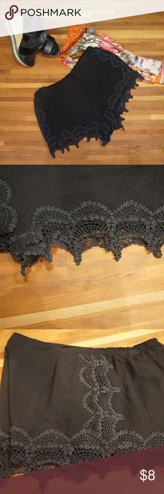 Noir /& Argent Sequinned sheer Butterfly sew on applique x 1