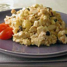 Curried Chicken Salad | MyRecipes.com #MyPlate #protein #fruit