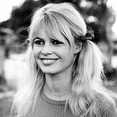 Brigitte Bardot -1965 Bardot sported pigtails on the set of Viva Maria.