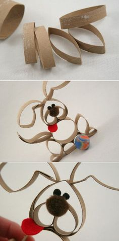 Cute Toilet Paper Roll Bunnies | 21 Toilet Paper Roll Craft Ideas