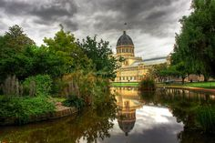 Royal Exhibition Building in Carlton Gardens, Melbourne, Australia