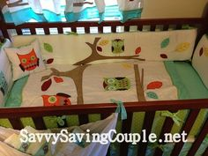 Google Image Result for http://savvysavingcouple.net/wp-content/uploads/2012/12/Turquoise-and-Lime-Hooty-Owl-Baby-Bedding-9-Piece-Crib-Set.jpg