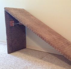 23 trendy diy dog stairs to bed litter box Dog Steps For Bed, Dog Ramp For Bed, Pet Ramp, Diy Dog Bed, Diy Bed, Doggie Beds, Murphy Bed Ikea, Murphy Bed Plans, Horizontal Murphy Bed