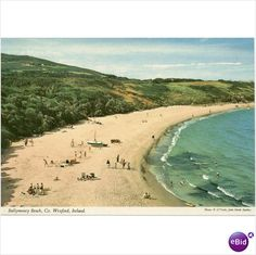 Ballymoney Beach, Co Wexford. Memories of Killdermot and many other happy times spent with family. Wexford Town, Wexford Ireland, Best Memories, Childhood Memories, Ireland Beach, National Rail, World Religions, School Photos, Salt And Water