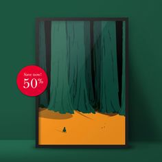 Dark Woods - In Space? Series - Poster and Postcard by Aleksandar Papez