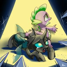 Spike protecting Thorax