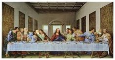 The Last Supper - This famous creation by Leonardo da Vinci features Mary Magdalene and the infamous Hand and Knife. Learn more about the The Last Supper - the most famous painting done by Leonardo da Vinci, and its hidden meanings. Last Supper Art, Da Vinci Last Supper, The Last Supper Painting, The Last Supper Scripture, The Last Supper Tattoo, Christian Paintings, Christian Art, Framed Art Prints, Fine Art Prints