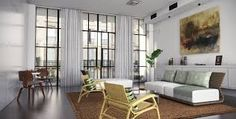 Image result for interior space with windows