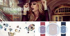 Nyhed hos BeautyAndDresses.dk - BYHENNEBERG smykker og ure med flotte Swarovski krystaller Find dem her: http://beautyanddresses.dk/by-henneberg-smykker/