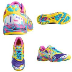 Tennis shoes- these would be perfect for the color me run!!