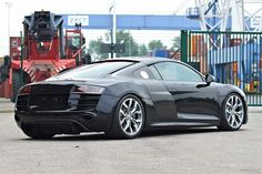 Black Panther Audi R8 2013. Add some black chrome rims with red break pads and you have my dream car right here :D
