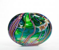 Peter Layton Glassware Homage to Hockney - this is one of my favorites - I just love the combination of colours