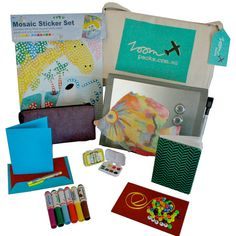 Zoompacks have travel entertainment for kids in the bag