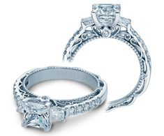 VENETIAN-5058P {NEW} engagement ring from The Venetian Collection of diamond engagement rings by Verragio