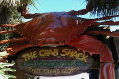 The Crab Shack  www.thecrabshack.com  (912) 786-9857