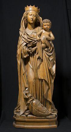 Virgin and Child of the Apocalypse Date: 1480–90 Culture: German Medium: Limewood The Metropolitan Museum of Art