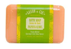 Ton Savon products are vegetable triple milled soaps focus on natural ingredients, & creating luxurious formulations for face, body, hair, and home. Bath Soap, Bathing Beauties, Kiwi, Shea Butter, Health, Soaps, Health Care, Salud