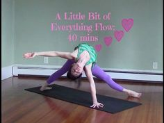 40 Minute Yoga Challenging Vinyasa Yoga Class - A Little Bit of Everything Flow - YouTube