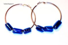 recycled earring, pet recycled