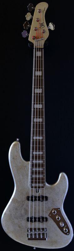 Jabba Custom 5 - Antique Silver (via Bass Direct)