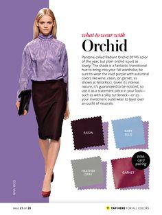 orchid + raisin/baby blue/heather gray/garnet