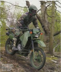 Diesel KLR, And I want one!
