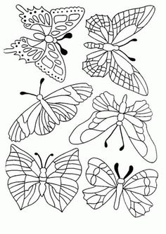 Printable Free Butterfly 51st Coloring Pages