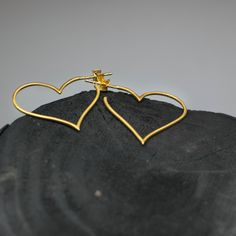Our Open Heart Hoop Earrings are beautifully subtle but deliver instant glamour! These hoops are the ultimate symbolism of the bleeding heart flower. Available in Gold Plated Sterling Silver or Sterling Silver. Bleeding Heart Flower, Hoop Earrings, Collections, Sterling Silver, Gold, Accessories, Earrings, Yellow, Jewelry Accessories