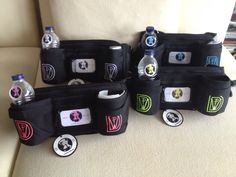 The 4 Thread Colors of DWP Pouches