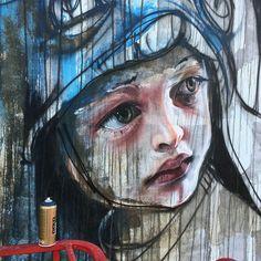 HERAKUT '… you might miss out on great beauty inside.'   Streetartist