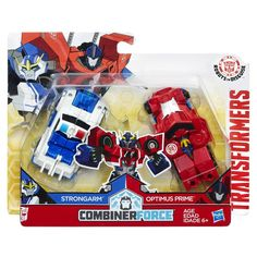 Transformers: Robots in Disguise Combiner Force 3.5 inch Action Figure - Crash Combiner Strongarm and Optimus Prime