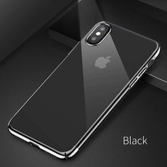 Baseus Luxury Plating phone Case For iPhone X Capinhas Ultra Thin Hard PC Back Cover color mirror Case For iPhoneX Gel Coque