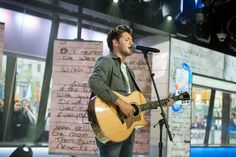 Niall performing This Town on GMA