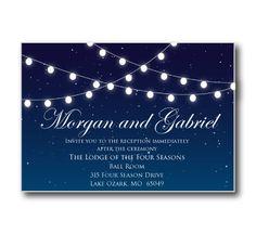 printable wedding place card template string lights diy wedding