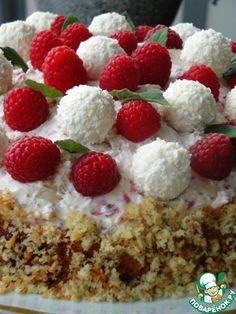 Торт Снежки - кулинарный рецепт