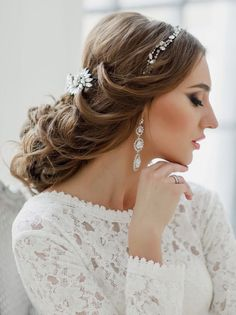 Tasteful Wedding Hairstyles from Elstile