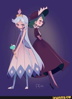 moon butterfly and eclipsa butterfly