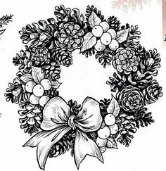 Coloring for adults - Kleuren voor volwassenen Coloring Pages To Print, Colouring Pages, Adult Coloring Pages, Free Coloring, Coloring Books, Christmas Colors, Christmas Art, Christmas Pictures, Christmas Projects