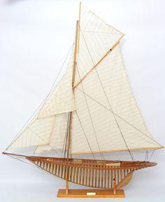 "Penduick Hollow Frame Hull 50"" Sailboat Model"
