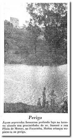 Fotos Históricas: lago na avenida Sumaré - noticias - O Estado de S. Paulo - Acervo Estadão