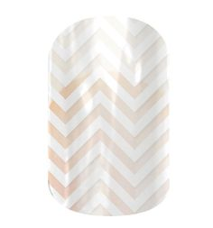 White Chevron  nail wraps by Jamberry Nails-- with the flower shop or with a sparkle underneath