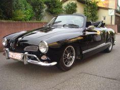 Black Karmann Ghia